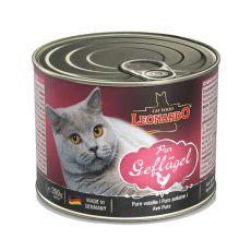 Konserwa dla kotów Leonardo - z drobiu 200g