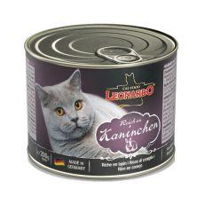 Konserwa dla kotów Leonardo - z królika  200g
