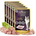 Saszetka NUEVO CAT Sensitive Turkey Monoprotein 6 x 85 g, 5 + 1 GRATIS