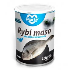 Konserwa dla kotów MARTY Premium Fish 400 g