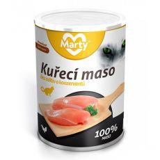 Konserwa dla kotów MARTY Premium Chicken 400 g