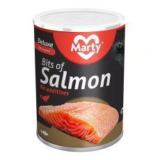 Konserwa dla kotów MARTY Deluxe Bits of Salmon 400 g