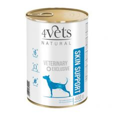 4Vets Natural Veterinary Exclusive SKIN SUPPORT 400 g