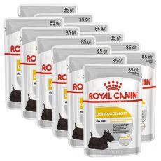 Royal Canin Dermacomfort Dog Loaf saszetka z pasztetem dla psów z problemami skórnymi 12 x 85 g