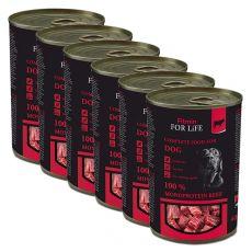 Konserwa Fitmin For Life RIND 6 x 400 g
