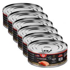 Konserwa dla kotów MARTY Deluxe Bits of Salmon 6 x 100 g