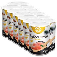 Konserwa dla kotów MARTY Premium Chicken 12 x 400 g