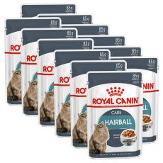 Royal Canin HAIRBALL CARE - saszetka 12 x 85 g