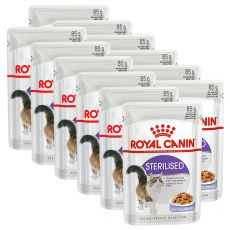 Royal Canin STERILISED in Jelly 12 x 85 g - w galarecie