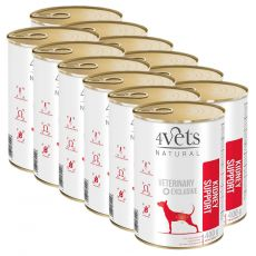 4Vets Natural Veterinary Exclusive KIDNEY SUPPORT 12 x 400 g