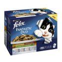 Saszetki Felix Fantastic Duo, pyszny wybór z warzywami w galarecie 12 x 100 g