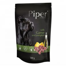 Saszetka Piper Adult z dziczyzną i dynią 500 g