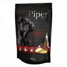 Saszetka Piper Adult z wołową wątróbką i ziemniakami 500 g