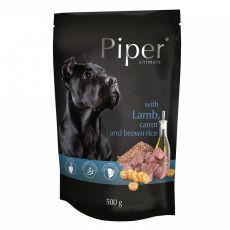 Saszetka Piper Adult z jagnięciną, marchwią i brązowym ryżem 500 g