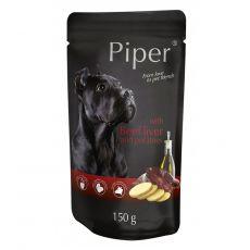 Saszetka Piper Adult z wołową wątróbką i ziemniakami 150 g