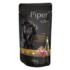 Saszetka Piper Adult z sercami kurczaka i brązowym ryżem 150 g