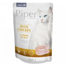 Saszetka Piper Cat Adult z mięsem z kurczaka 100 g