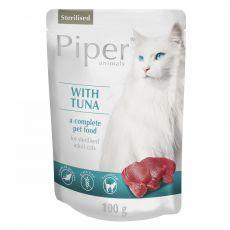 Saszetka Piper Cat Sterilised z tuńczykiem 100 g