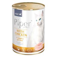 Konserwa Piper Cat Adult z mięsem z kurczaka 400 g