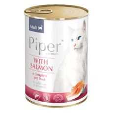 Konserwa Piper Cat Adult z łososiem 400 g