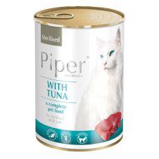 Konserwa Piper Cat Sterilised z tuńczykiem 400 g
