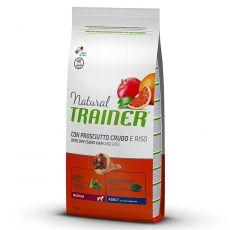 TRAINER Natural Medium Adult suszona szynka 12 kg