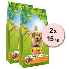 Purina FRISKIES Dog Balance 2 x 15kg