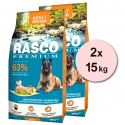 RASCO PREMIUM Adult Medium 2 x 15 kg