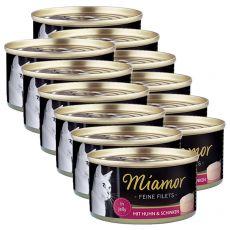 Konserwa Miamor Filet kurczak i szynka 12 x 100 g