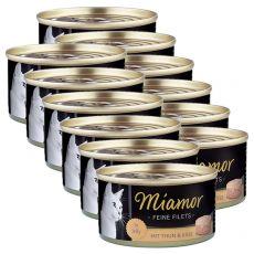 Konserwa Miamor Filet tuńczyk i ser 12 x 100 g