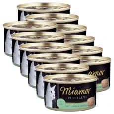 Konserwa Miamor Filet tuńczyk i warzywa 12 x 100 g