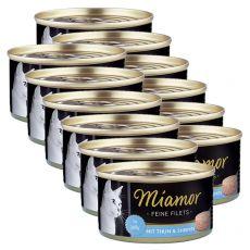 Konserwa Miamor Filet tuńczyk i krewetki 12 x 100 g
