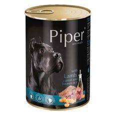 Konserwa Piper Adult z jagnięciną, marchwią i brązowym ryżem 400 g