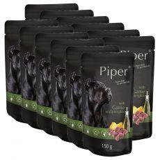 Saszetka Piper Adult z dziczyzną i dynią 12 x 150 g