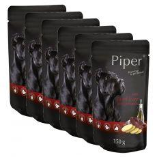 Saszetka Piper Adult z wołową wątróbką i ziemniakami 6 x 150 g