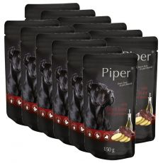 Saszetka Piper Adult z wołową wątróbką i ziemniakami 12 x 150 g
