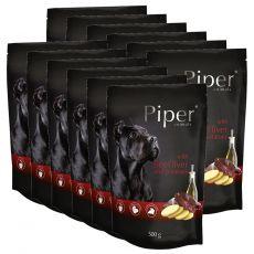 Saszetka Piper Adult z wołową wątróbką i ziemniakami 12 x 500 g
