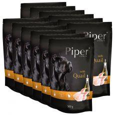 Saszetka Piper Adult z przepiórką 12 x 500 g
