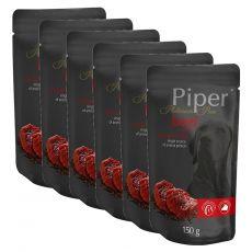 Saszetka Piper Platinum Pure wołowina i brązowy ryż 6 x 150 g