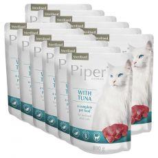 Saszetka Piper Cat Sterilised z tuńczykiem 12 x 100 g