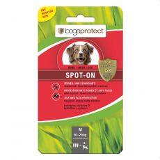 Przeciwpasożytnicze krople dla psów BOGAPROTECT Spot-On M 3 x 2,2 ml