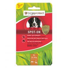 Przeciwpasożytnicze krople dla psów BOGAPROTECT Spot-On XL 3 x 4,5 ml