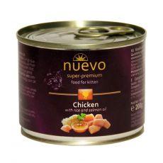 Konserwa NUEVO CAT Kitten Chicken 200 g