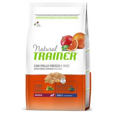 Trainer Natural Adult Medium, kurczak i ryż 3 kg