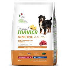 TRAINER Natural SENSITIVE No Gluten Adult Medium / Maxi Lamb 3 kg