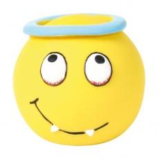 Zabawka dla psa piłka Smiley - lateks