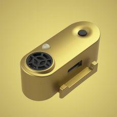 TICKLESS MINI ultradźwiękowy repelent dla małych psów - złoty