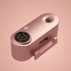 TICKLESS MINI ultradźwiękowy repelent dla małych psów - złoto-różowy