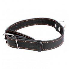 COLLAR skórzana obroża dla psa czarna 32 - 40 cm, 20 mm