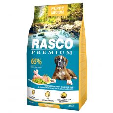 RASCO PREMIUM Puppy Medium 3 kg